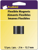 ".5"" 12/Pkg - ProMag Flexible Round Magnets"