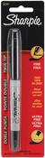 Black - Sharpie Fine/Ultra Fine Twin-Tip Permanent Marker Carded
