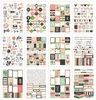 Bloom Sticker Tablet - Simple Stories {12} A5 sticker sheets, 501 stickers total; sized for A5 planners