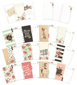 Bloom Personal Monthly Planner Inserts - Simple Stories
