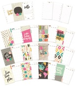 Good Vibes Personal Monthly Planner Inserts - Simple Stories