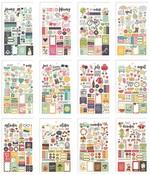 Seasons Mini Sticker Tablet - Simple Stories