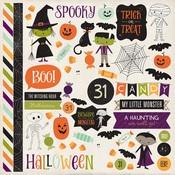 Halloween Town Element Stickers - Echo Park