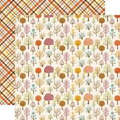 Woodland Walk Paper - A Perfect Autumn - Echo Park