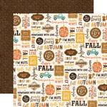 Happy Harvest Paper - A Perfect Autumn - Echo Park