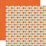 Owl Friends Paper - A Perfect Autumn - Echo Park