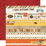 Border Strips Paper - A Perfect Autumn - Echo Park