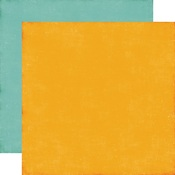 Yellow - Teal Paper - A Perfect Autumn - Echo Park