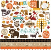 A Perfect Autumn Element Sticker Sheet - Echo Park