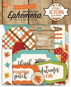 A Perfect Autumn Frames & Tags Ephemera - Echo Park