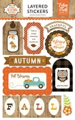 A Perfect Autumn Layered Stickers - Echo Park