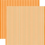 Butterscotch Stripe Paper - Dots & Stripes Fall 2017 - Echo Park