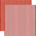 Apple Stripe Paper - Dots & Stripes Fall 2017 - Echo Park