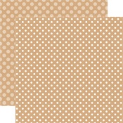Oatmeal Dot Paper - Dots & Stripes Fall 2017 - Echo Park