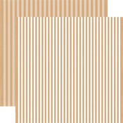 Oatmeal Stripe Paper - Echo Park