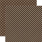Molasses Dot Paper - Dots & Stripes Fall 2017 - Echo Park