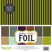 Black Foil Stripe Collection Kit - Echo Park