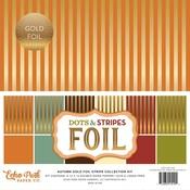 Autumn Gold Foil Stripe Collection Kit - Echo Park