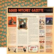 Good Witches Gazette Paper - Haunted House - Carta Bella