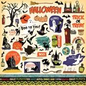 Haunted House Sticker Sheet - Carta Bella