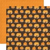 Pumpkin Spice Paper - Hello Fall - Carta Bella