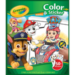 "Paw Patrol - Crayola Color 'n Sticker Book 10""X8.5"""