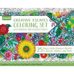 Crayola Coloring Set W/Markers & Colored Pencils