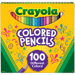 100/Pkg - Crayola Colored Pencils