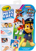 Paw Patrol - Crayola Color Wonder On The Go Coloring Kit Crayola-Color Wonder On The Go Coloring Kit, Paw Patrol. Great for travel with kids! Markers only color on this special paper (not skin, fabric, or furniture.) The package contains fifteen coloring pages and three markers. Recommended for ages three and up. WARNING: Choking hazard<BR>- small parts. Not for children under 36months. Conforms to ASTM D 4236. Imported.