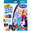 Frozen - Crayola Color Wonder Glitter Set Crayola-Color Wonder Glitter Set: Frozen. Great for travel with kids! Markers only color on this special paper (not skin, fabric, or furniture.) This 8.75X11.5X.75 inch package contains twelve glitter pages and five markers. WARNING: Choking Hazard. Not suitable for children under 36 months. Conforms to ASTM D4236. Imported.
