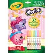 Shopkins - Crayola Coloring & Activity Pad W/Markers