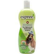 Espree Natural Tea Tree & Aloe Medicated Pet Shampoo 20oz