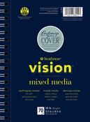 "Strathmore Vision Mixed Media Pad 5.5""X8.5"""
