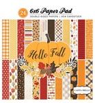 Hello Fall 6 x 6 Paper Pad - Carta Bella
