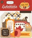 Hello Fall Tags & Frames Ephemera - Carta Bella