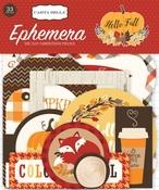 Hello Fall Ephemera - Carta Bella