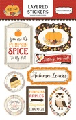 Hello Fall Layered Stickers - Carta Bella
