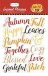 Hello Fall Enamel Words & Phrases - Carta Bella