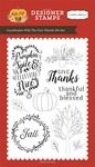 Give Thanks Stamp - Carta Bella