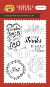 Give Thanks Stamp - Carta Bella