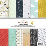Dream Big 6 x 6 Paper Pad - Fancy Pants