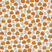 Pumpkin Patch Paper  - Midnight Haunting - Pebbles