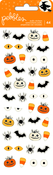 Midnight Haunting Mini Puffy Stickers - Pebbles