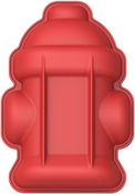 """10""""X7"""" - Red Fire Hydrant Cake Pan"""