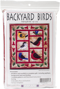 "13""X15"" - Backyard Birds Wall Quilt Kit"