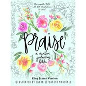 King James Version - Praise Creative Journaling Bible By Laura Elizabeth Marshall
