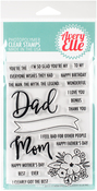 "Mom & Dad - Avery Elle Clear Stamp Set 4""X6"""