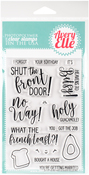 "No Way! - Avery Elle Clear Stamp Set 4""X6"""
