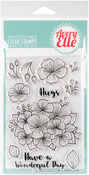 "Floral Bouquet - Avery Elle Clear Stamp Set 4""X6"""