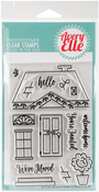 "Welcome Home - Avery Elle Clear Stamp Set 4""X6"""